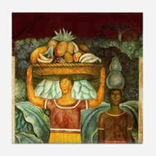 Diego Rivera Mujeres Tehuanas (1 of 2) Art Tile