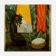 Diego Rivera Mujeres Tehuanas (2 of 2) Art Tile