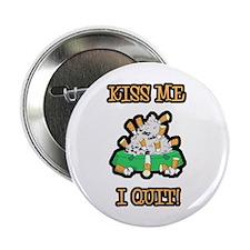 Kiss Me I Quit Smoking Button