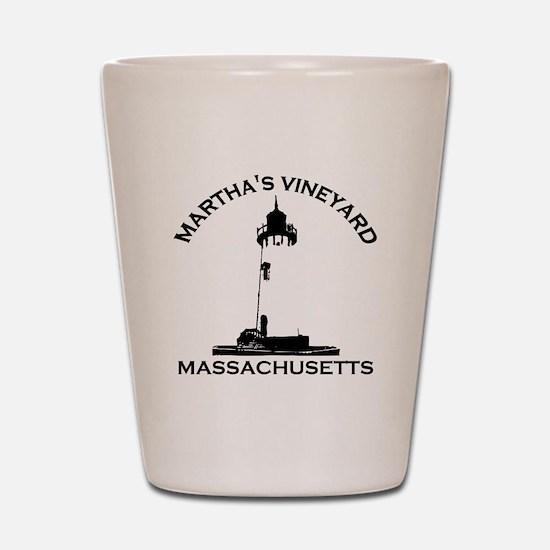 Martha's Vineyard MA - Lighthouse Design. Shot Gla