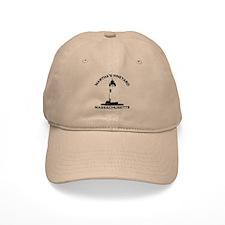 Martha's Vineyard MA - Lighthouse Design. Baseball Baseball Cap
