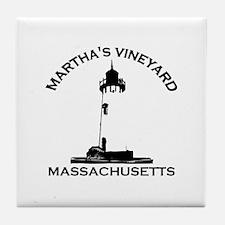 Martha's Vineyard MA - Lighthouse Design. Tile Coa