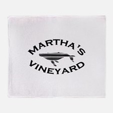 Martha's Vineyard MA - Whale Design. Stadium Blan