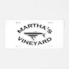 Martha's Vineyard MA - Whale Design. Aluminum Lice