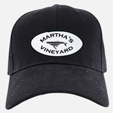 Martha's Vineyard MA - Whale Design. Baseball Hat