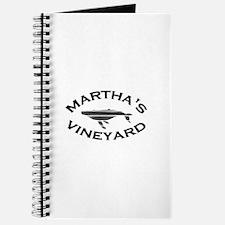 Martha's Vineyard MA - Whale Design. Journal