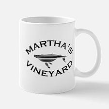 Martha's Vineyard MA - Whale Design. Mug