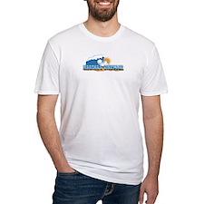 Martha's Vineyard MA - Waves Design. Shirt