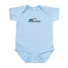 Martha's Vineyard MA - Waves Design. Infant Bodysu