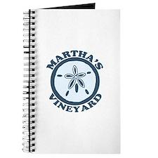 Martha's Vineyard MA - Sand Dollar Design. Journal