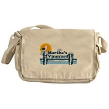 Martha's Vineyard MA - Pier Design. Messenger Bag
