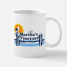 Martha's Vineyard MA - Pier Design. Mug