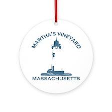 Martha's Vineyard MA - Lighthouse Design. Ornament