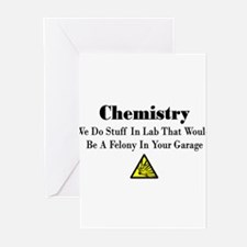 Cute Chemistry Greeting Cards (Pk of 10)