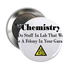 "Unique Chemistry 2.25"" Button (10 pack)"