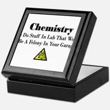 Cute Chemistry Keepsake Box