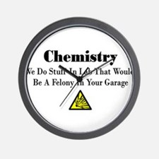 Cool Funny chemistry Wall Clock