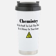 Cute Chemistry Travel Mug