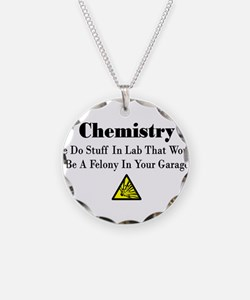 Cute Chemistry Necklace