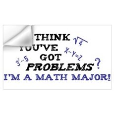 Funny Math Major Poster Wall Decal