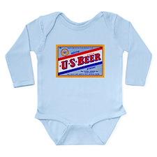 Colorado Beer Label 1 Long Sleeve Infant Bodysuit