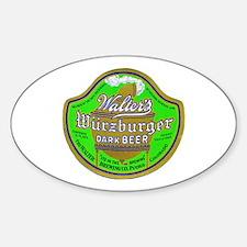 Colorado Beer Label 2 Sticker (Oval)