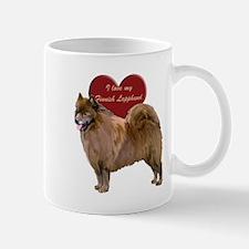 Unique Finnish lapphund dog breed Mug