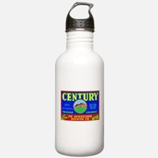 Colorado Beer Label 3 Water Bottle