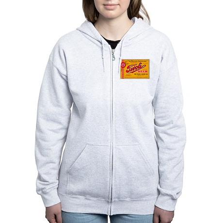 Colorado Beer Label 4 Women's Zip Hoodie
