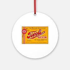Colorado Beer Label 4 Ornament (Round)