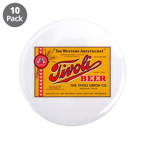 "Colorado Beer Label 4 3.5"" Button (10 pack)"