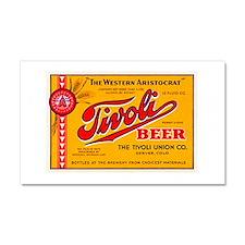 Colorado Beer Label 4 Car Magnet 20 x 12