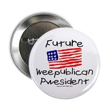 Future Weepublican Pwesident Button