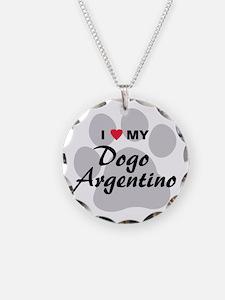 Dogo Argentino Necklace