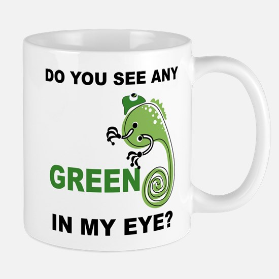 Green In My Eye Mug