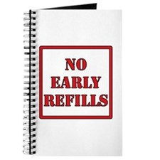 Pharmacy - No Early Refills Journal