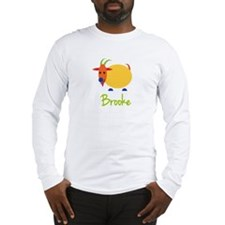 Brooke The Capricorn Goat Long Sleeve T-Shirt