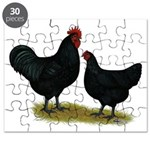 Jersey Black Giants Puzzle