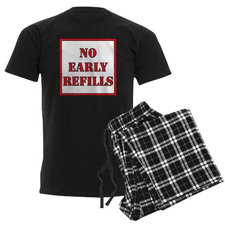 Pharmacy - No Early Refills Men's Dark Pajamas