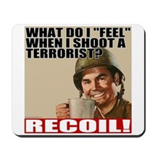 "Soldiers ""Feel"" Recoil Mousepad"