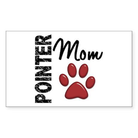 Pointer Mom 2 Sticker (Rectangle)