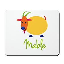 Mable The Capricorn Goat Mousepad