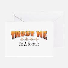 Trust Scientist Greeting Cards (Pk of 10)