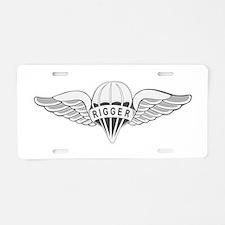 Rigger Aluminum License Plate
