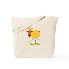 Sophia The Capricorn Goat Tote Bag