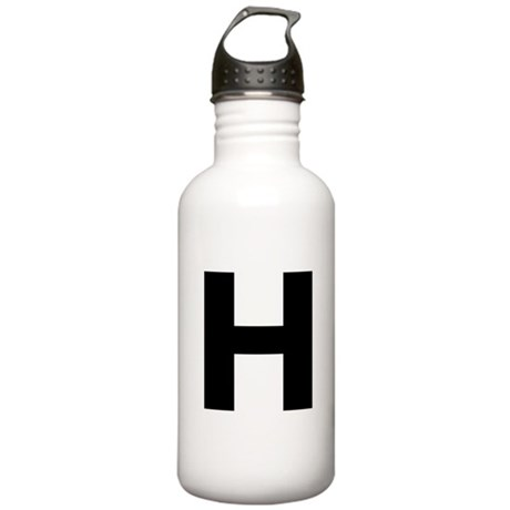 Letter H Stainless Water Bottle 1.0L