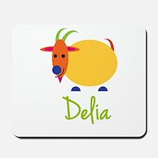 Delia The Capricorn Goat Mousepad