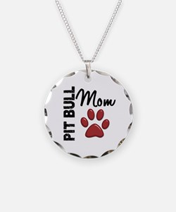 Pit Bull Mom 2 Necklace