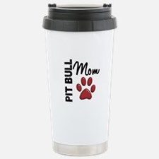 Pit Bull Mom 2 Travel Mug