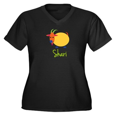 Shari The Capricorn Goat Women's Plus Size V-Neck